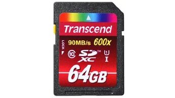 Transcend SDXC 64GB Class10 UHS-l 600x (Ultimate)
