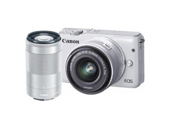 Canon EOS M10 KIT 15-45mm IS STM +55-250mm IS STM(white)